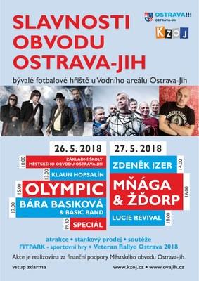 Olympic na květnových Slavnostech obvodu Ostrava-Jih
