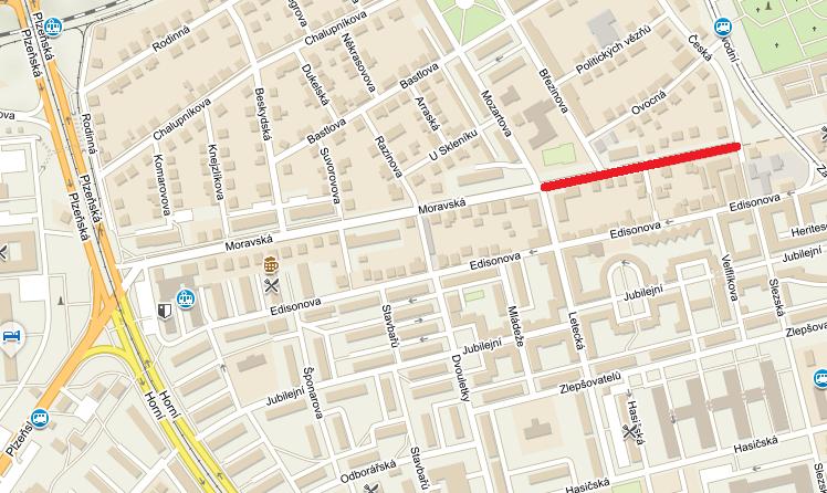 Oprava ulice Moravská v Hrabůvce si vyžádá postupné uzavírky