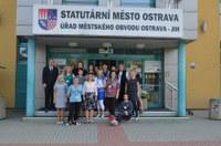 Papučový den také na radnici Ostravy-Jihu