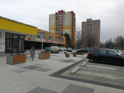 Rekultivace předprostoru Uralu v Ostravě-Zábřehu je hotová